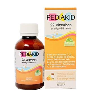 Pediakid Bổ Sung 22 Vitamin Và Khoáng Chất Cho Bé 125ml
