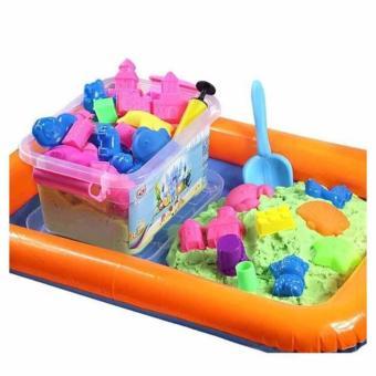 Bộ đồ chơi khuôn cát nặn tăng khả năng sáng tạo cho trẻ