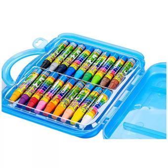 Sáp vali màu dầu 18 màu sắc của Hàn Quốc xanh