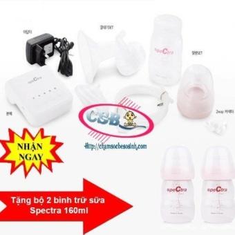 Máy hút sữa mini Spectra Q + Tặng bộ 2 bình trữ sữa spectra : 180.000