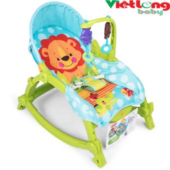 Ghế rung trẻ em Baby Throne XF-009 (Xanh)