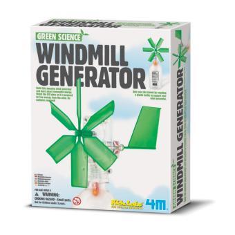 Khoa học xanh Cối xay gió phát điện