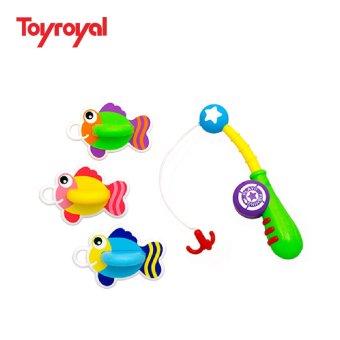 Bộ đồ chơi câu cá sắc màu Toyroyal 4903447719503