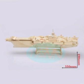 Bộ ghép hình 3D tàu sân bay