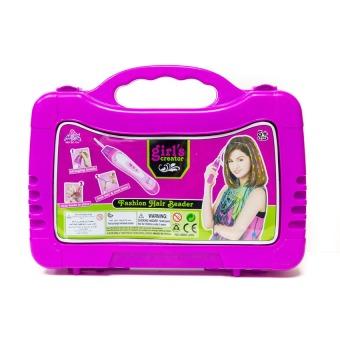 Bộ đồ chơi phụ kiện làm tóc Paktattoys HSP648518+ Tặng vòng tay sillicon cho trẻ em
