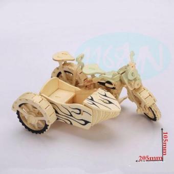 Bộ xếp hình 3D xe máy