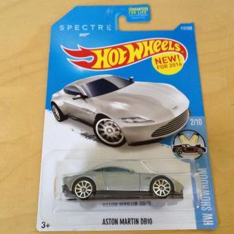Xe mô hình tỉ lệ 1:64 Hot Wheels Spectre 007 Aston Martin DB10 - Xám