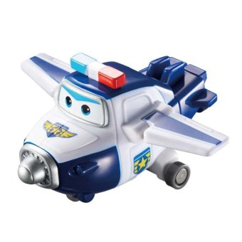 Máy bay biến hình robot mini Cảnh sát Paul SUPER WINGS YW710050