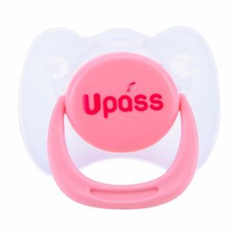 Ty ngậm Upass cho trẻ sơ sinh đơn - Hồng UP0281NH