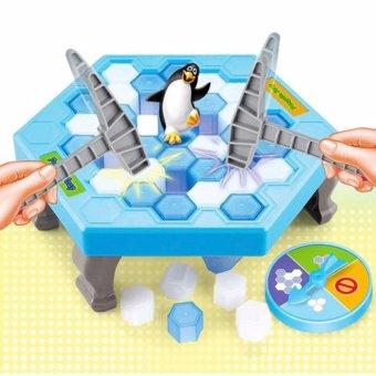 Trò chơi bẫy chim cánh cụt Penguin Trap cho bé (Xanh dương)