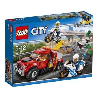 Hộp LEGO City Xe Cướp Két Sắt 60137 (144 chi tiết)