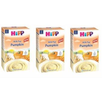Bộ 3 bột ăn dặm HIPP SỮA VÀ BÍ ĐỎ (Bí Đỏ)
