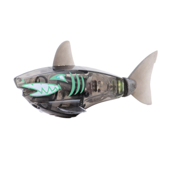 Activated Charger Powered Robot Shark Toy Black (Intl)