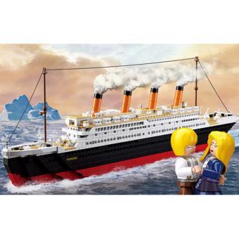 Bộ lắp ráp Sluban tàu titanic cỡlớn