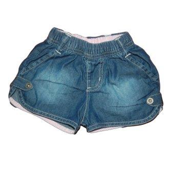 Quần short bé gái Shopconcuame (Xanh)