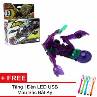 Chiến Xa Thần Thú - Bá Vương Bò Cạp + Tặng 1 đèn led USB