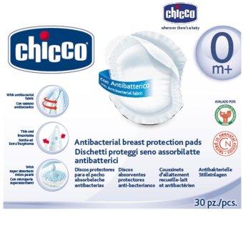 Miếng lót thấm sữa chống khuẩn 30 miếng Chicco (Trắng)