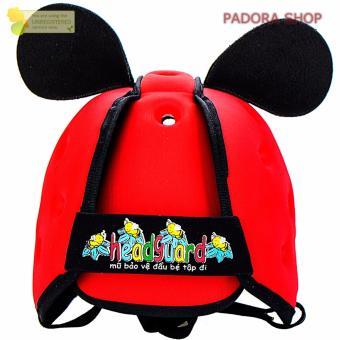 Mũ Bảo Hiểm Cho Bé Tập Bò,Tập Đi HeadGuard đỏ
