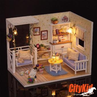 Đồ chơi mô hình nhà gỗ diy Cute Room H-013