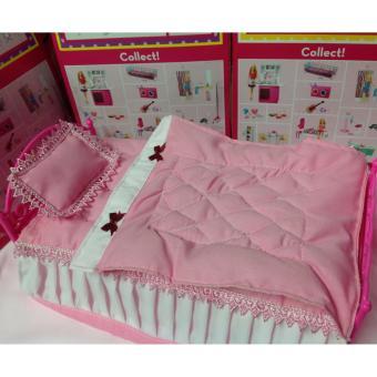 Bộ giường búp bê cao cấp