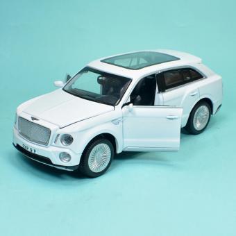 Xe Mô Hình Sắt Tỉ Lệ 1:32 Sieu Xe Kiểu Dáng Bentley EXP9 - Trắng