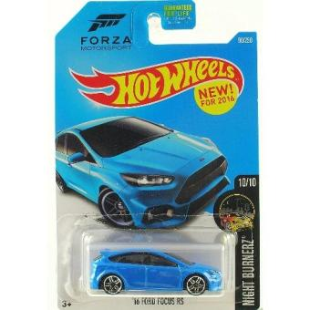 Xe Mô hình 1:64 Hot Wheels 2016 '16 Ford Focus RS