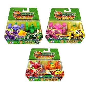 Bộ 6 Robo trái cây Fruity Robo YW520721-ABCDEFG