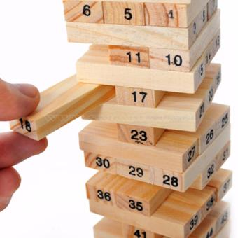 Đồ chơi rút gỗ thông minh giúp trẻ sáng tạo