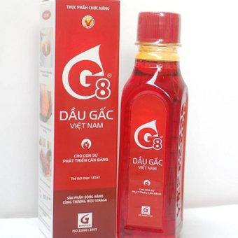 Dầu gấc Việt Nam G8 185ml