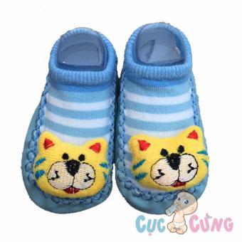 Giày tập đi cho trẻ sơ sinh - hình hổ