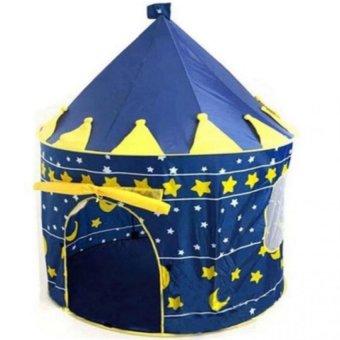Lều bóng lâu đài hoàng tử ( xanh )