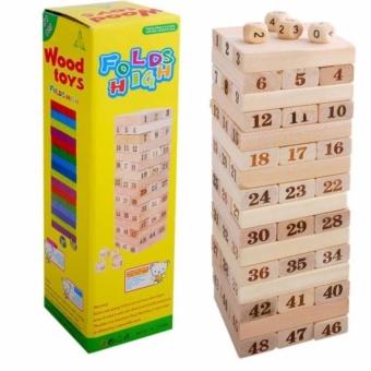 Mua Bộ trò chơi rút gỗ WOOD TOYS loại lớn giá tốt nhất