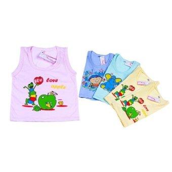 Bộ 5 áo ba lỗ cho bé Nanio AD002 (3-6M)