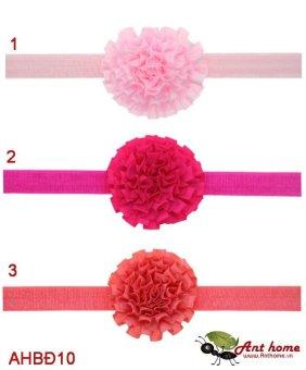 Combo 3 băng đô cao cấp phụ kiện tóc cho bé gái AHBĐ10 (số 1, 2 và 3)