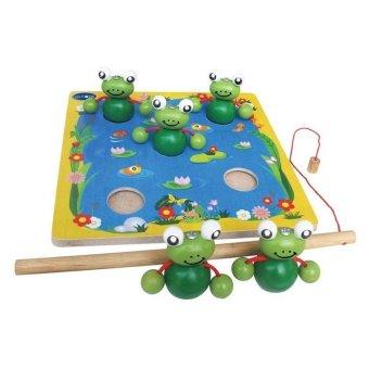 Đồ chơi gỗ câu ếch Winwintoys 65362