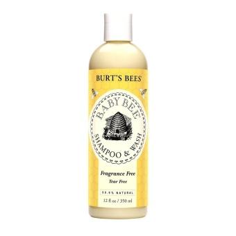 Sữa tắm gội toàn thân cho bé không cay mắt Burt's Bees 350 ml