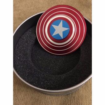 Spinner Khiêng Captain america kim loại cao cấp