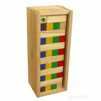 Đồ chơi gỗ Winwintoys - trò chơi rút thanh gỗ sắc màu