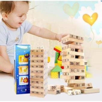 Bộ đồ chơi rút gỗ thông minh cho bé hongkong PGH-901