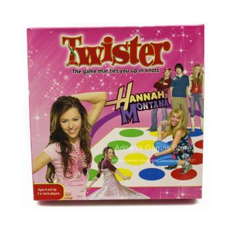 Game Twister Hannah Montana