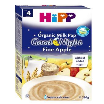 Bột sữa dinh dưỡng HiPP Good Night yến mạch táo tây 250g