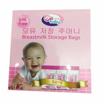 Hộp 50 túi trữ sữa mẹ GB BABY Hàn Quốc