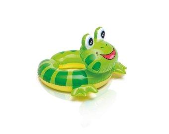 Phao bơi vòng hình thú Intex 59220 (Ếch xanh)