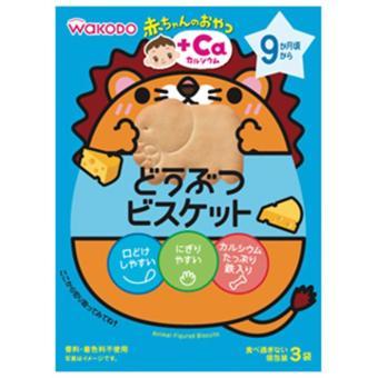 Bánh ăn dặm Wakodo bổ sung can xi 18358 cho bé 9m+