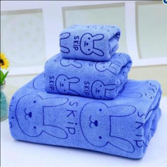 Set 3 khăn tắm mềm mịn cho bé