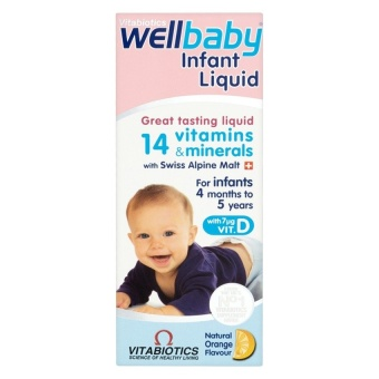 Vitamin tổng hợp bổ Sung 14 vitamin - WellBaby Infant Liquid 150ml