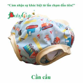 Tã vải quần short đêm BabyCute size L (14-24kg)