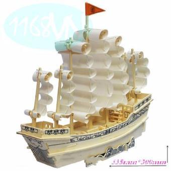 Bộ ghép hình 3D thuyền buồm