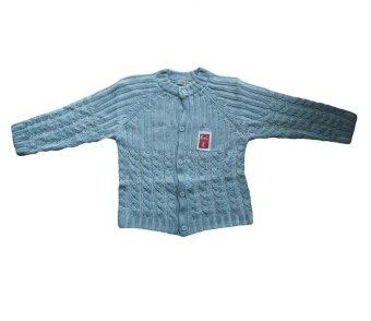 Áo len cho bé Shopconcuame (Xanh)