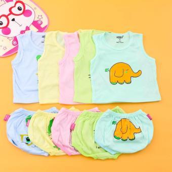 Mua Combo 05 bộ quần áo BA LỖ cotton cho bé yêu Chipxinhxk giá tốt nhất